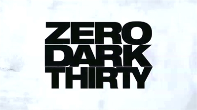 Why It Crackles: Zero Dark Thirty