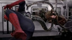 Spider-Man battles Doc Ock